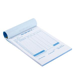 Hóa đơn giấy Carbonless 2 - 3 liên