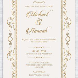 Thiệp cưới tự thiết kế